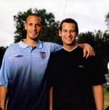 Rio Ferdinand and Dan