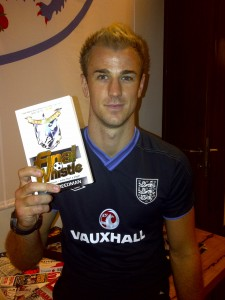 Joe Hart with Final Whistle