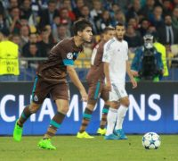 Neves in Champions League combat, becoming the youngest ever captain in a top flight European match.