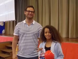 Wilbury Junior School 'best question' Winner, Cleo.
