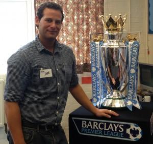 Dan with PL trophy