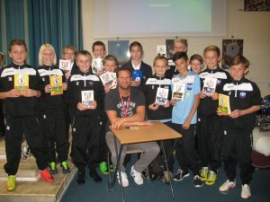 Dan and The Football Academy at St Gregory's School in Kent