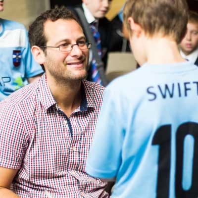 Dan Freedman, author